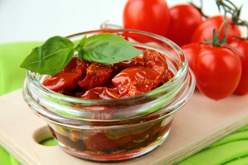 sun blushed tomatoes Sanzio recipes
